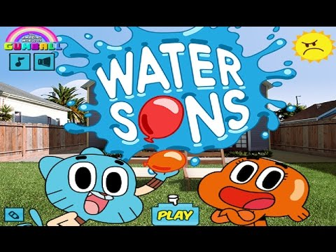 The Amazing World of Gumball – WATER SONS (Cartoon Network Games)