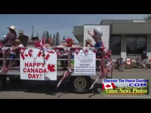 2014 Canada Day parade Grande Prairie - ARCHIVED VIDEO