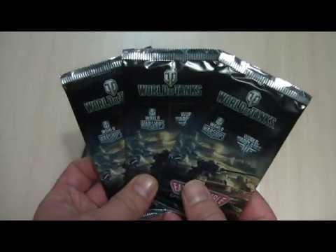 Халява. Коллекционные карточки World of Tanks и бонус-код внутри.