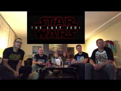 Thumbnail: Star Wars The Last Jedi Trailer Reaction - Geeker Things