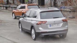 Тест драйв нового VW TIGUAN в Берлине   )