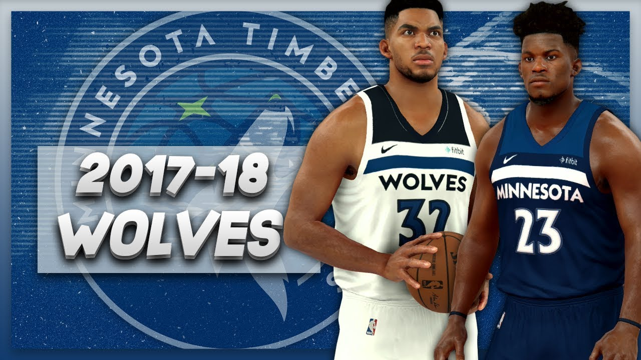 Nba 2k17 2017 18 Minnesota Timberwolves Nike Jersey Court