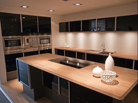 Simple Modern Kitchen Designs - YouTube