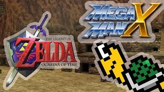 Zelda Ocarina of Time - Gerudo Valley (Mega Man X Remix)