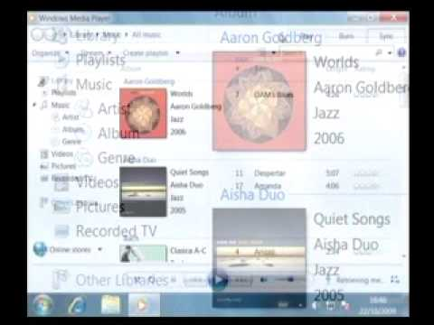 how to change default media player windows 7