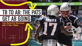How Did The Patriots Use Antonio Brown in His First—and Only—Week in New England? Video