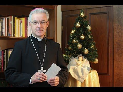 Życzenia Bożonarodzeniowe bp. Wiesława Lechowicza, Delegat KEP ds. Emigracji Polskiej