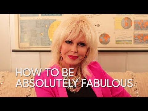 How to Be Absolutely Fabulous with Joanna Lumley