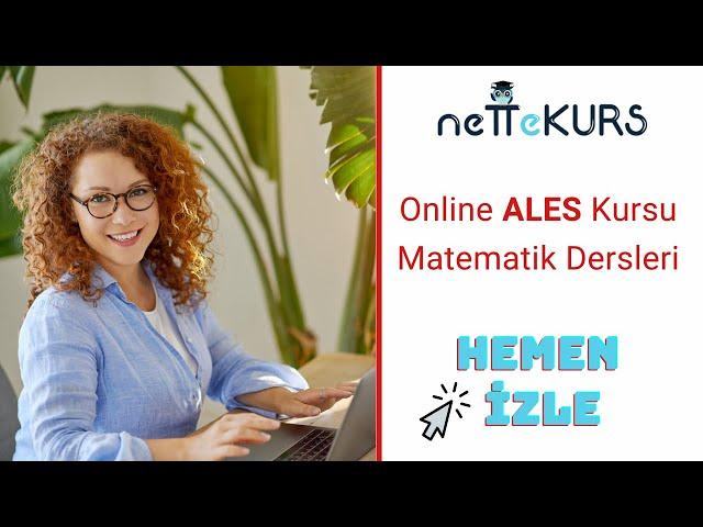 ALES Sayısal - Matematik - Asal Çarpanlara Ayırma / nettekurs.com - Uzaktan Eğitim Dershanesi