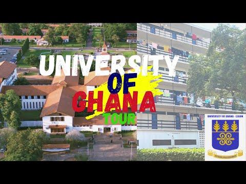 UNIVERSITY OF GHANA TOUR   STUDYING IN GHANA   MOVING TO GHANA VLOG