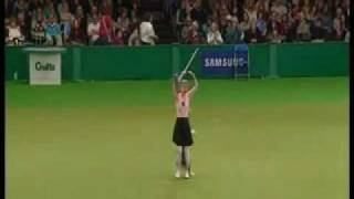 Tina Humphrey, The Ballet Freestyle Routine, Crufts 2009