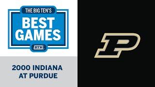 2000 Indiana at Purdue | Big Ten Football | Big Ten