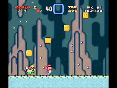 Super Mario World Green Switch Palace Walkthrough Youtube
