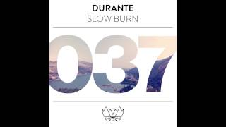 Durante - Slow Burn (Feat. Chuck Ellis) - Radio Edit