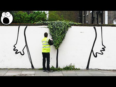 Genius Graffiti Art That Will Make You Smile