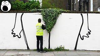 Genius Graffiti Art That Will Make You Smile