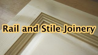 Rail and Stile Joinery