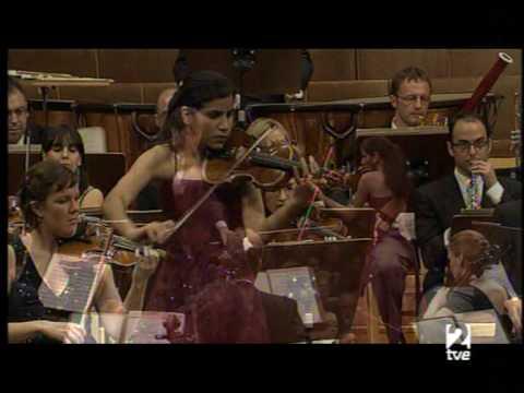 Ana Maria Valderrama plays Prokofiev violin concerto N.1 (1 Mov) Part 1