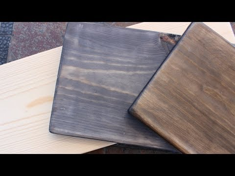 How to Oxidize (Age) New Wood & Get A Vintage Look
