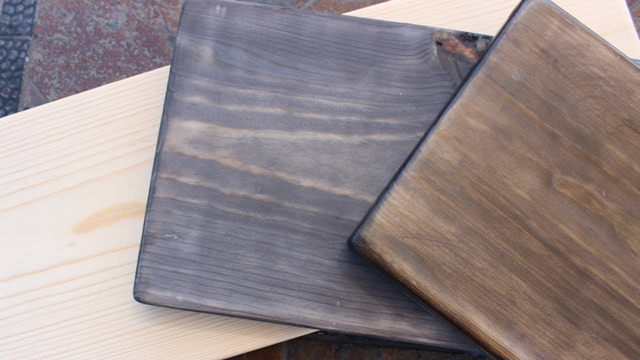 How To Oxidize Age New Wood Get A Vintage Look