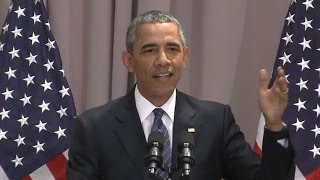 Obama on Iran Nuke Pact: Dangers If U.S. Walks Away