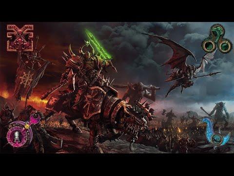 Call of Warhammer: Chaos Divided Free for All - Khorne vs. Nurgle / Slaanesh vs. Tzeentch