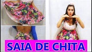 Faça seu vestido de Festa Junina – Saia de Chita