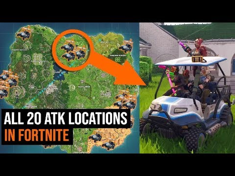 All 20 ATK Locations in Fortnite