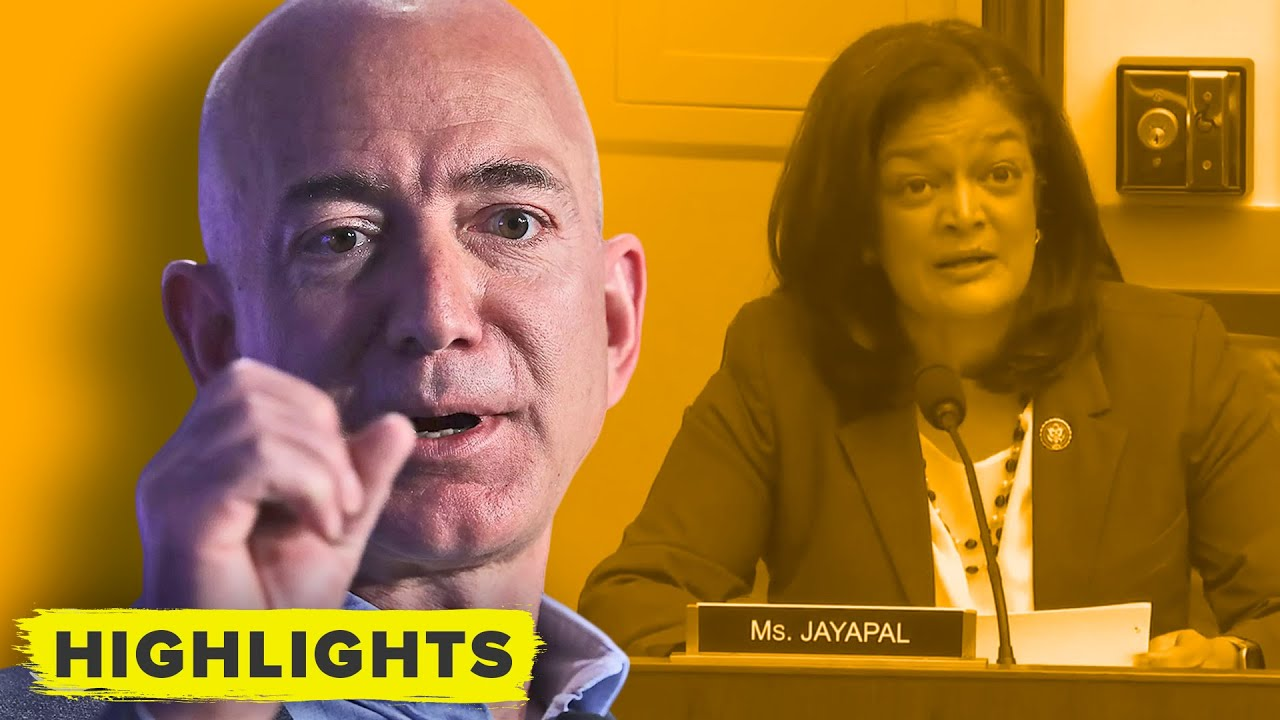 Jeff Bezos vs Congress: Why Amazon's Tech could kill Small Businesses