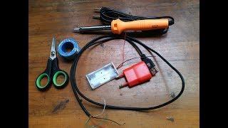 How To Make AA/AAA Battery Charger From USB 5V at Home DIY For MP3 Player Camera TV Remote