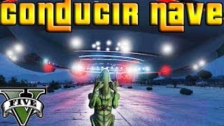 GTA V Online - Hack - Conduciendo NAVE ESPACIAL!!! - transformarse en todo!