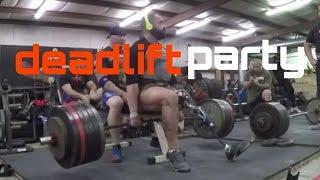 deadlift party/ ph3 week 4/ AMRAP 2017 Video
