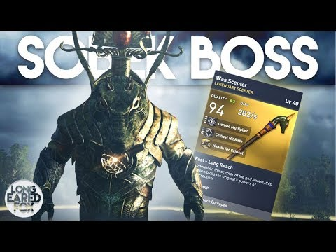 Assassin's Creed Origins | HOW TO EASILY DEFEAT SOBEK BOSS + LEGENDARY SCEPTER! - Trial of The Gods