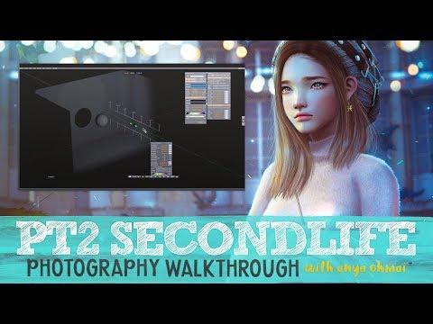 SL Photography Walkthrough // Part 2 // SECONDLIFE