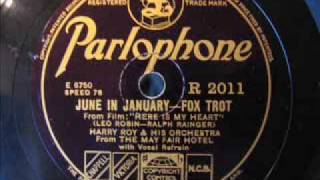 Harry Roy - June in January