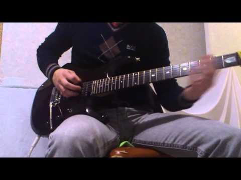 Skrillex - Scary Monsters and Nice Sprites Guitar Cover by MaTt Huguet (with tabs)