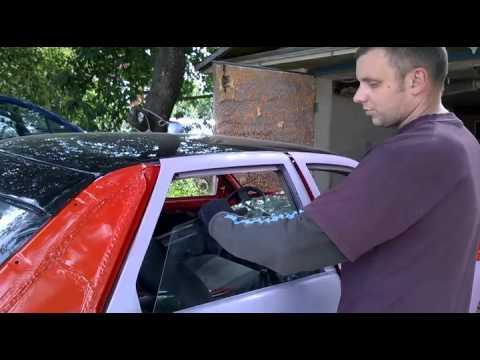 МИРа: Как установить стекло задней двери ВАЗ-2110 (ВАЗ-2111 и  похожих авто)
