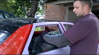 МИРа: Как установить стекло задней двери ВАЗ-2110 (ВАЗ-2111 и  похожих авто)(Показываю как вставить боковое стекло в заднюю дверь автомобиля на примере ВАЗ-2110. Весь нюанс в том, под..., 2015-07-02T03:53:12.000Z)