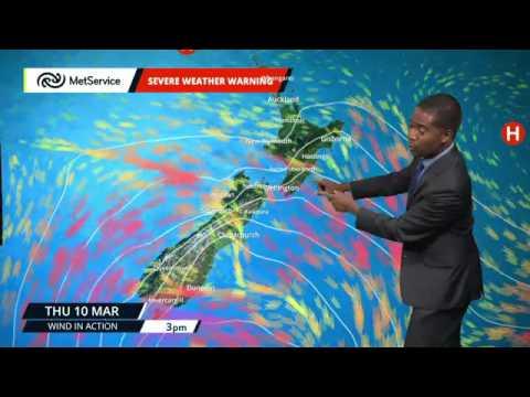 MetService Severe Weather Warnings for Otago