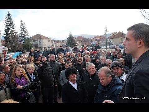 Манчевски во Кичево: Уште едни криминални избори нема �...