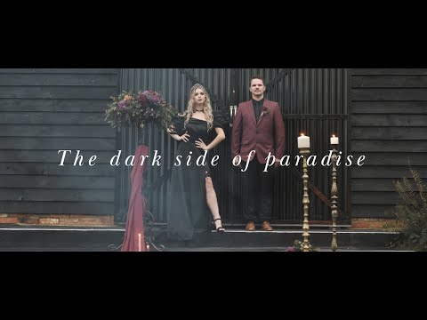 'The Dark Side of Paradise' - Gothic & Halloween Themed Styled Shoot // Crabapple Barn, Sussex UK