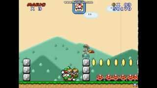 Custom Mario Levels: Super Mario Flash 2 Yoshi's Adventure