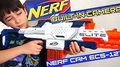 Robert-Andre's Nerf N-Strike Elite Nerf Cam ECS-12 Blasterl