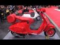 2017 Vespa 946 Red Scooter - Walkaround - 2017 Toronto Motorcycle Show