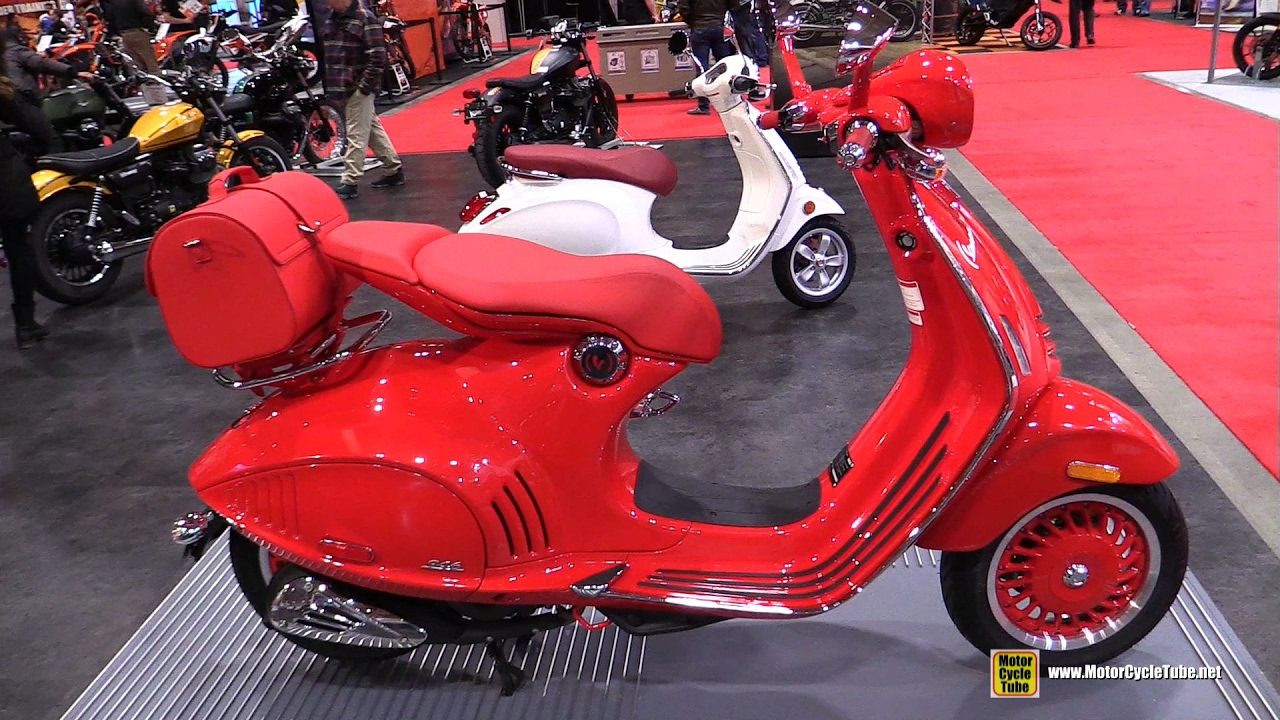 2017 Vespa 946 Red Scooter - Walkaround - 2017 Toronto Motorcycle Show