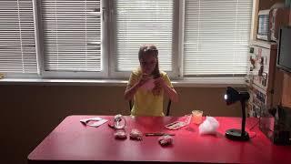 Мой первый видео блог на Ютюб. Делаем прикольные самодельные сквиши.