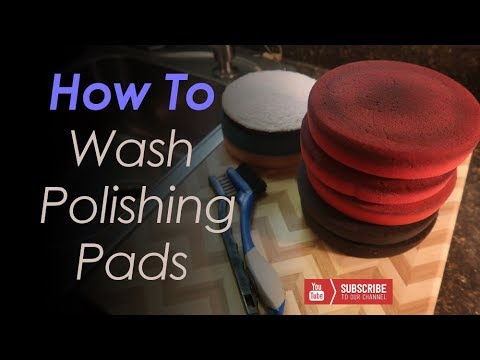 How To Clean Your Polishing Pads