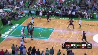 Isaiah Thomas Steps Up And Drills An Emotional Three Pointer Sending The Boston Crowd Into A Frenzy