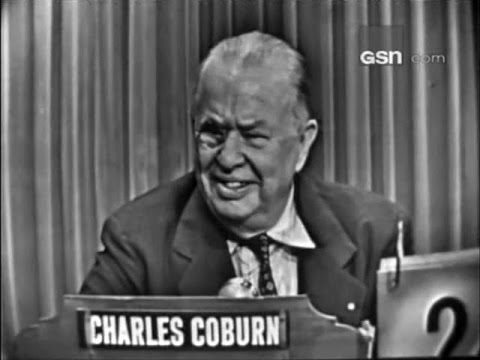 What's My Line? - Charles Coburn (Aug 2, 1953) [UPGRADE!]