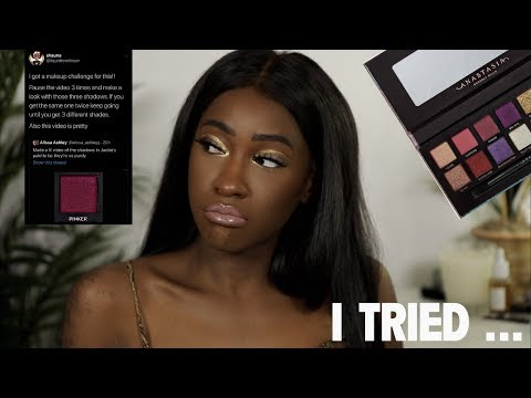 The Jackie Aina Palette Challenge thumbnail